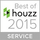 Best of Houzz 2015 Service Award