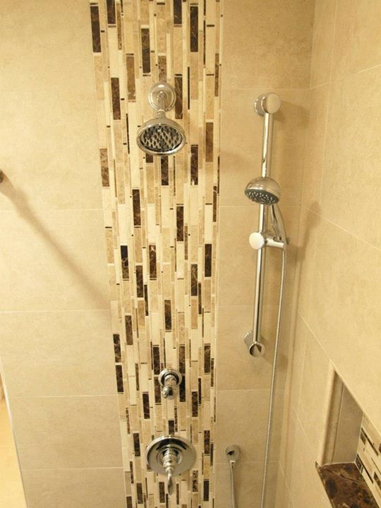 Top Waterfall ispired shower design QF52