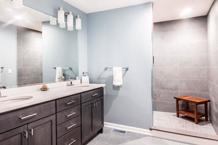 Modern Master Bath - Berkeley Heights, NJ