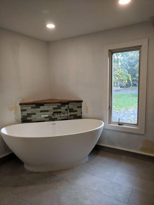 Natural Contemporary Master Bathroom