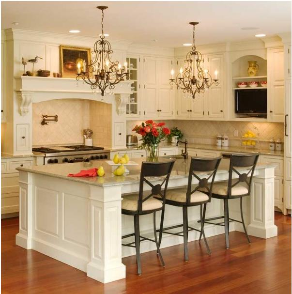 White_Kitchen_Island_NJ