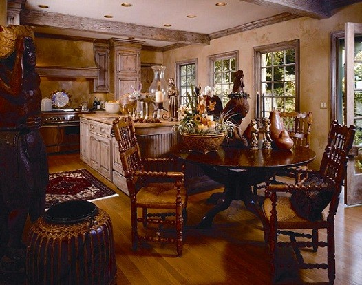 decorfrenchcountry - Colonial Kitchen Ideas