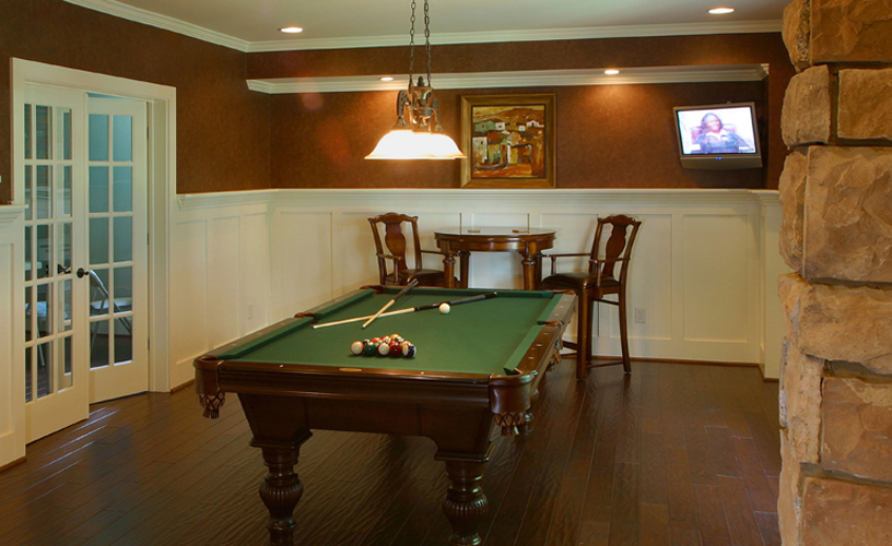 NJ Basement Game Rooms