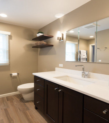 Bathroom design may even be more popular than a kitchen facelift  Bathrooms are smaller and the redesign can cost less than kitchen  while still upgrading. Chester NJ Kitchen Remodeling and Bathroom Renovations
