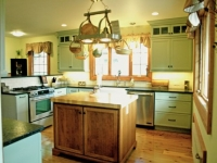 Custom Country Kitchen